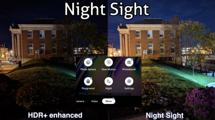 Night Sight Google Camera