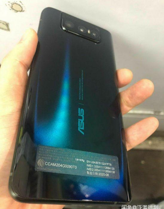 Фото Asus Zenfone 7 с камерой-перевертышем – фото 3