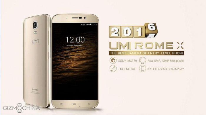 UMI Rome X: акция на предзаказ смартфона со скидкой отложена – фото 1