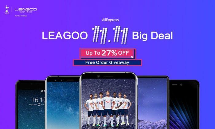 Распродажа смартфонов Leagoo для холостяков и не только 11 ноября – фото 1
