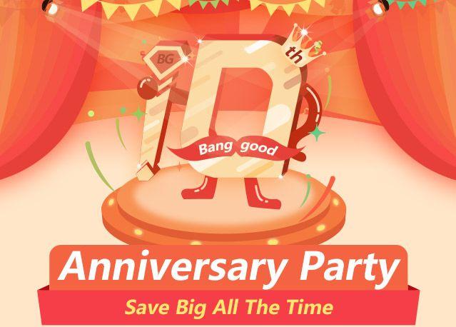 48-часовая распродажа в честь 10-летия магазина Banggood начнется уже завтра – фото 1
