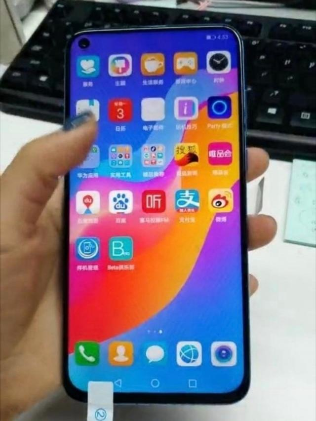 Huawei Nova 4 вновь показали на живых снимках – фото 1