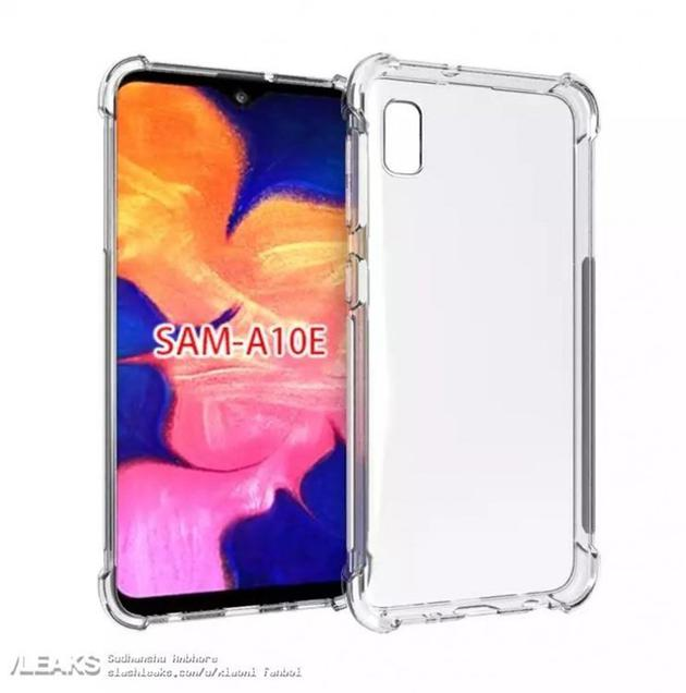 Показали дизайн Samsung Galaxy A10e – фото 1