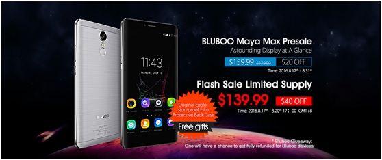 Спешите заказать 6-дюймовый Bluboo Maya Max с камерой Sony IMX214 и аккумулятором на 4200 мАч за $139,99 – фото 2