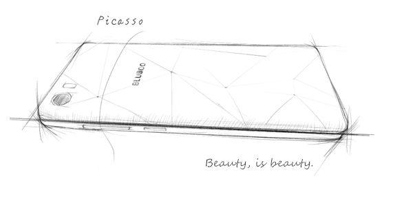 Bluboo Picasso оснастят 5-дюймовым дисплеем с большой площадью покрытия фронтальной панели – фото 1