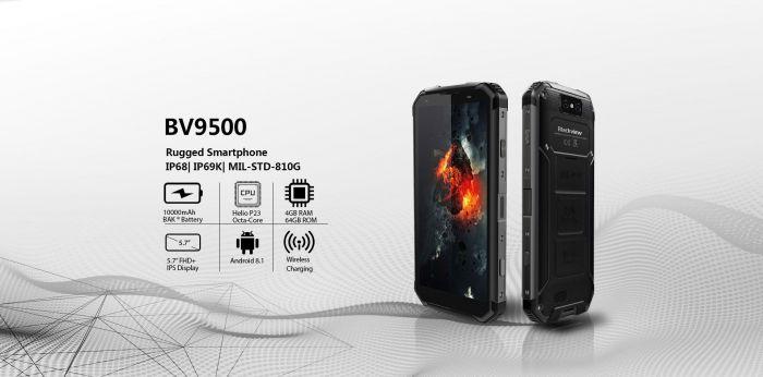 Blackview BV9500 Pro — максимально защищенный и выносливый мобильник – фото 1
