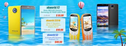 VKworld снижает цены на безрамочный Mix Plus, кнопочный VKworld Z3310 и другие смартфоны – фото 1