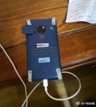 Huawei Mate 20 Pro со своеобразной тыльной камерой показали на фото – фото 1