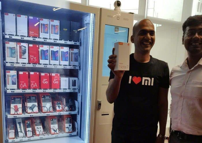 Автомат для продажи смартфонов Xiaomi и Redmi: быстро, легко и в любое время – фото 1