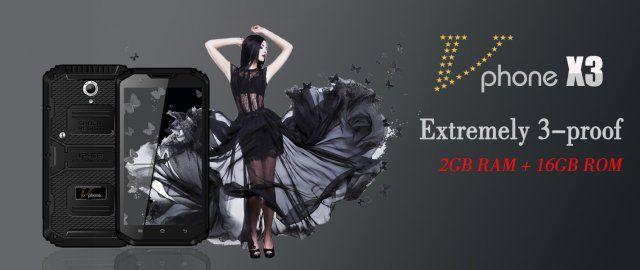 Vphone X3 пополнит ряды смартфонов с классом защиты IP68 – фото 1