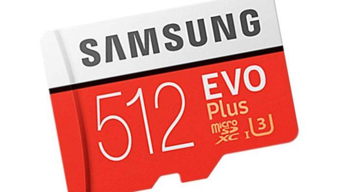 Новая карта microSD от Samsung имеет вместимость 512 Гб – фото 1