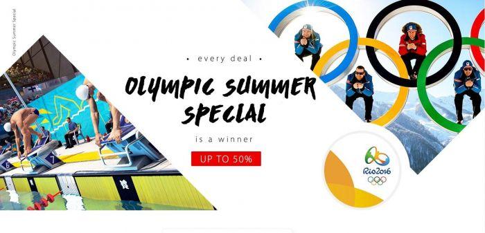 Распродажа электроники в магазине Gearbest.com в честь Олимпийских игр 2016 в Рио-де-Жанейро – фото 1