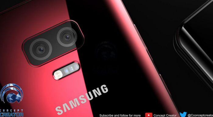 Концепт, каким может быть Samsung Galaxy S10