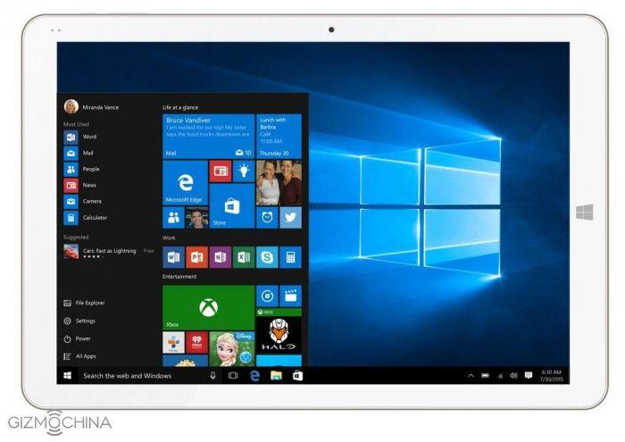 Chuwi Hi12: официально дебютировал планшет на базе Windows 10 – фото 1