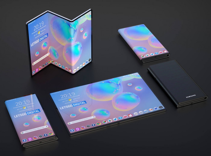 Samsung поможет китайским вендорам с гибкими дисплеями – фото 1