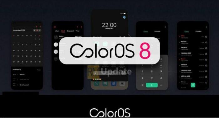 В Сети начали появляться домыслы о скором выходе ColorOS 8