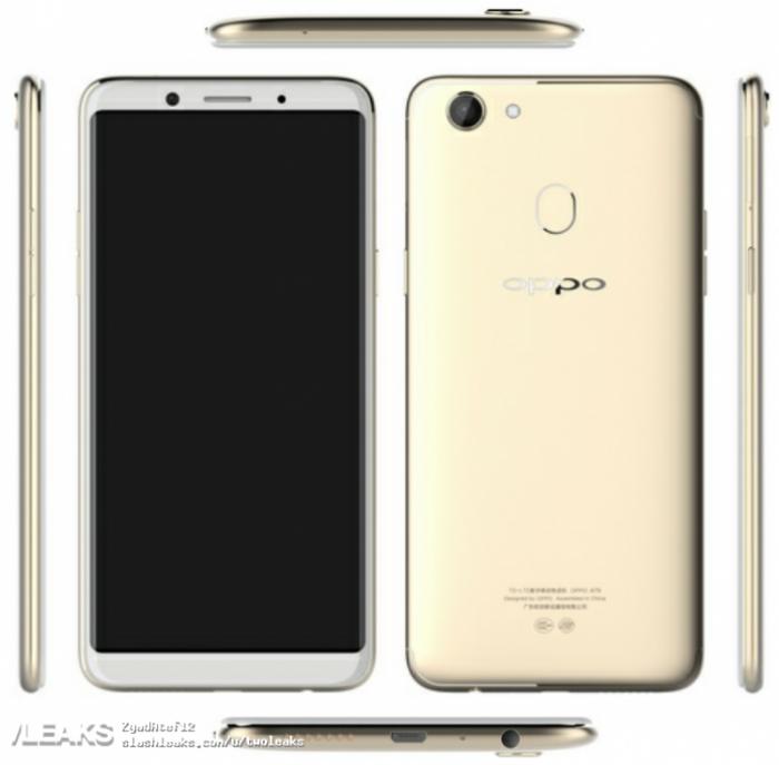 Oppo A79 получит широкоформатный дисплей и чип Helio X23 – фото 1