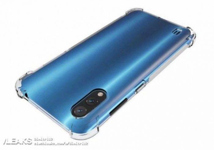 Рендеры Samsung Galaxy A01