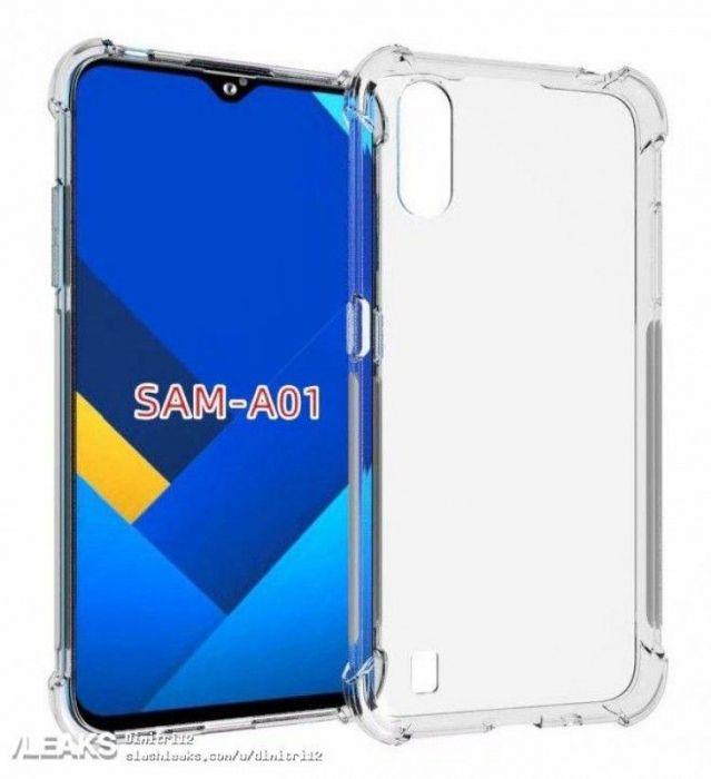 Рендеры показали дизайн Samsung Galaxy A01 – фото 1