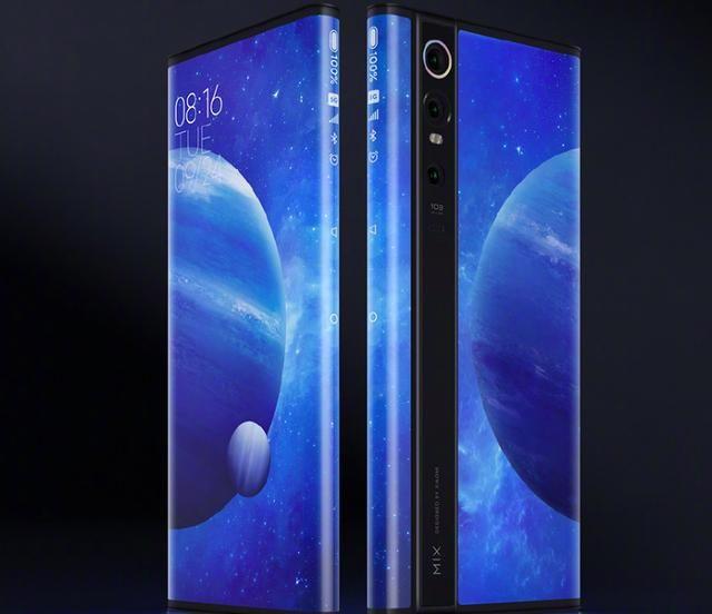 Анонс Xiaomi Mi MIX Alpha: концепт из будущего с опоясывающим экраном и 108 Мп камерой – фото 1