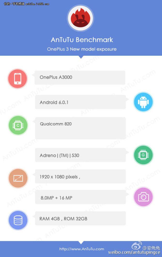 OnePlus 3 (A3000) с процессором Snapdragon 820 будет представлен в следующем месяце – фото 2