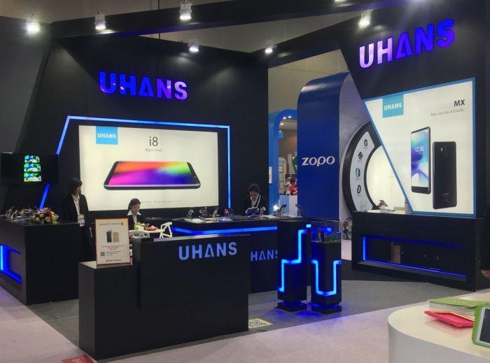 UHANS показала пять смартфонов на выставке Asia World-Expo – фото 1