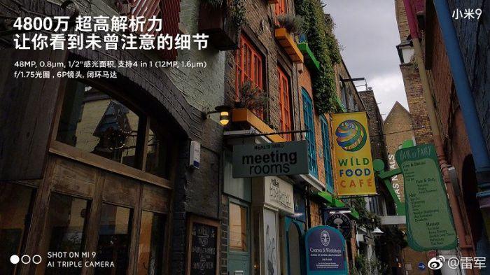 Xiaomi Mi 9: официальные характеристики камер и результаты AnTuTu – фото 2