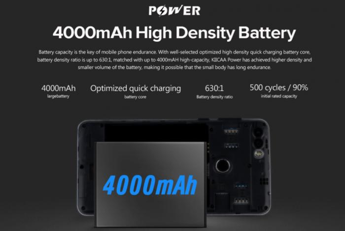 Leagoo KIICAA Power с двойной камерой и аккумулятором на 4000 мАч всего за $59,49 – фото 2