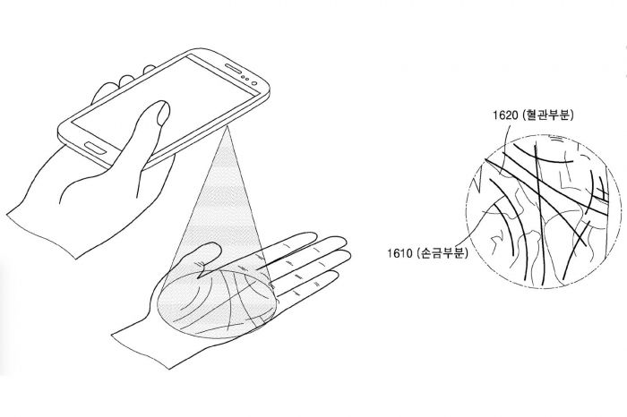 Samsung придумала сканер ладони – фото 1