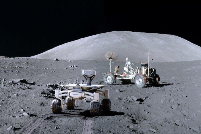луноход на луне фотографии пепел этого топонима