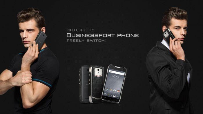 Бизнес-смартфон Doogee T5 с аккумулятором на 4500 мАч выйдет в августе – фото 1