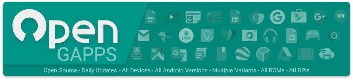 Open GApps теперь поддерживает Android 8.1 ARM + ARM64 – фото 2