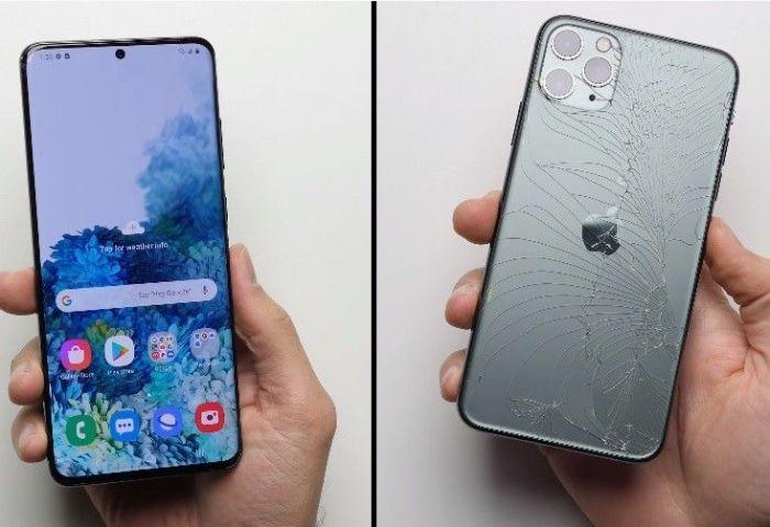 Samsung Galaxy S20 Ultra испытали на прочность и он прошел дроп-тест – фото 2