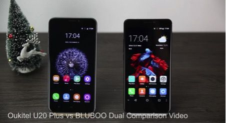 Bluboo Dual и Oukitel U20 Plus: видео сравнение бюджетников с двумя тыльными камерами – фото 1