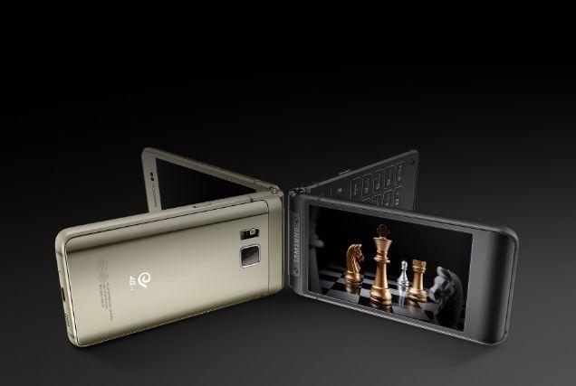 Раскладной смартфон Samsung Veyron (SM-W2017) получит Snapdragon 820 и 4,2-дюймовые дисплеи – фото 2