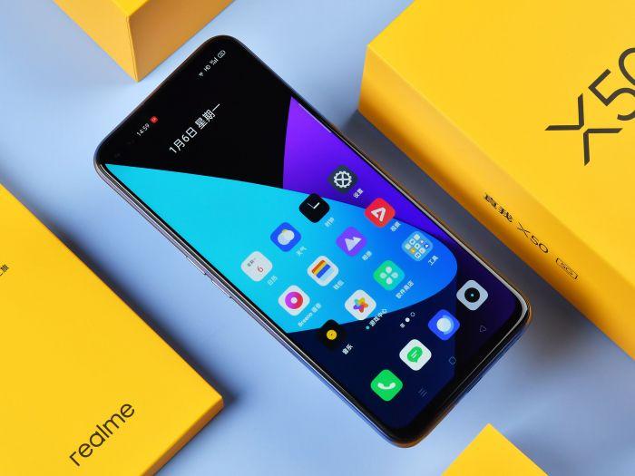 Анонс Realme X50 5G: 120-Гц дисплей, Snapdragon 765G и квадрокамера – фото 1