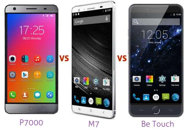 elephone-p7000-vs-mlais-m7-vs-be-touch