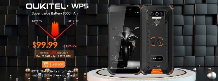 Купить Oukitel WP5 и Teclast F6 Plus дешевле в Gearbest – фото 1