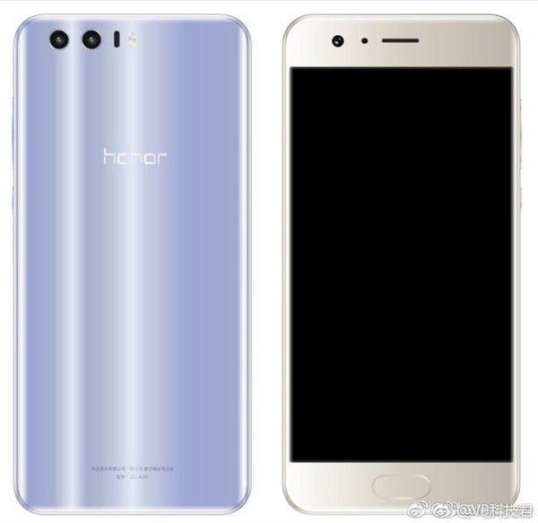 Huawei Honor 9 засветился на рендерах – фото 1