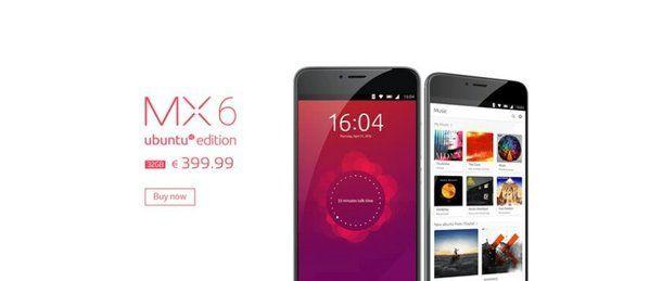 Meizu MX6 станет Ubuntu-смартфоном на базе Helio X20 – фото 1