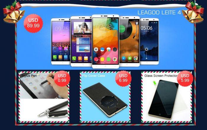 Рождественская распродажа смартфонов Leagoo в интернет-магазине Geekbuying.com – фото 3
