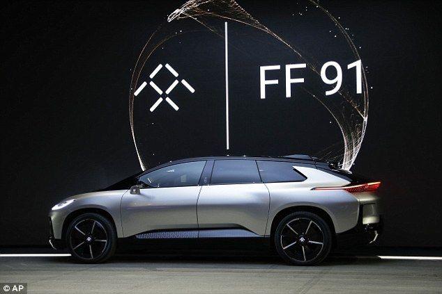 LeEco анонсировала электрокар Faraday Future FF91, ставший самым динамичным в мире – фото 2
