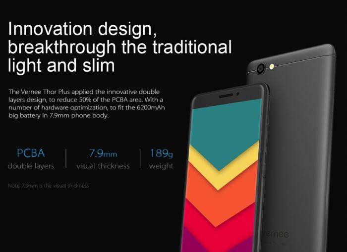 Vernee Thor Plus — выносливый тонкий смартфон без излишеств – фото 1
