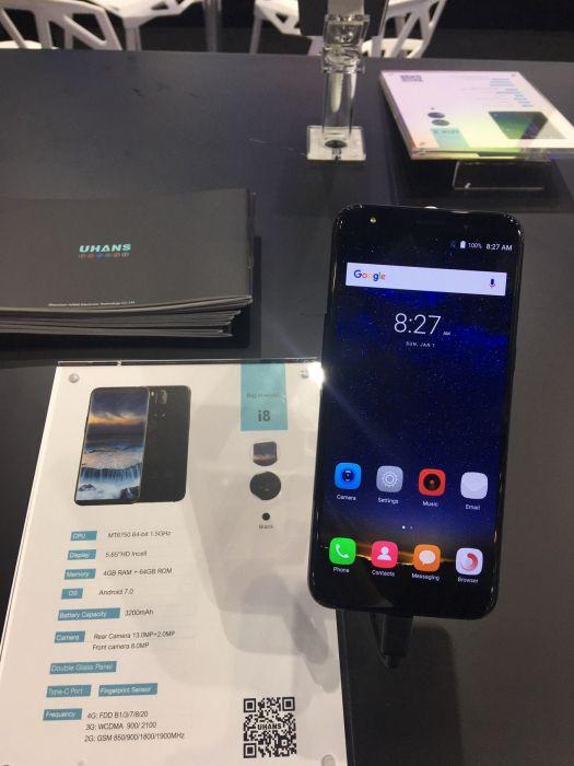 UHANS показала пять смартфонов на выставке Asia World-Expo – фото 7