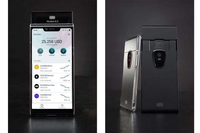 Блокчейн-смартфон Sirin Finney предложит самобытный дизайн – фото 1