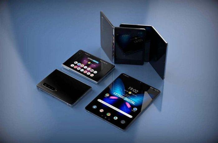 Galaxy Fold 2 концепт