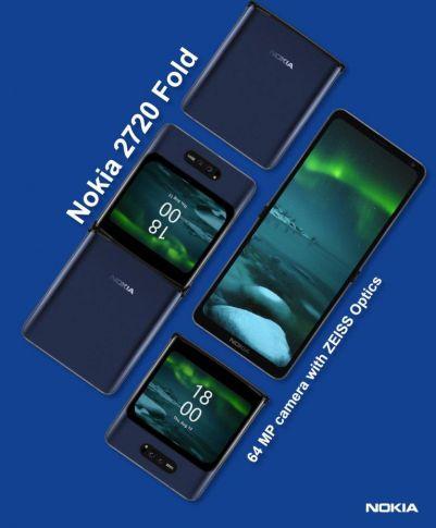 Складной смартфон Nokia