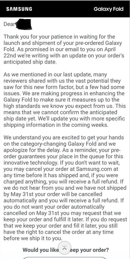 Выход Samsung Galaxy Fold откладывается на неопределенный срок – фото 2