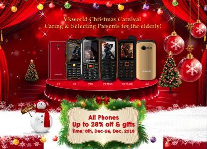 Распродажа смартфонов от VKworld в честь Рождества – фото 1