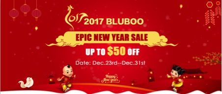 Bluboo проводит новогоднюю акцию и снижает цены на свои смартфоны до 50% – фото 1